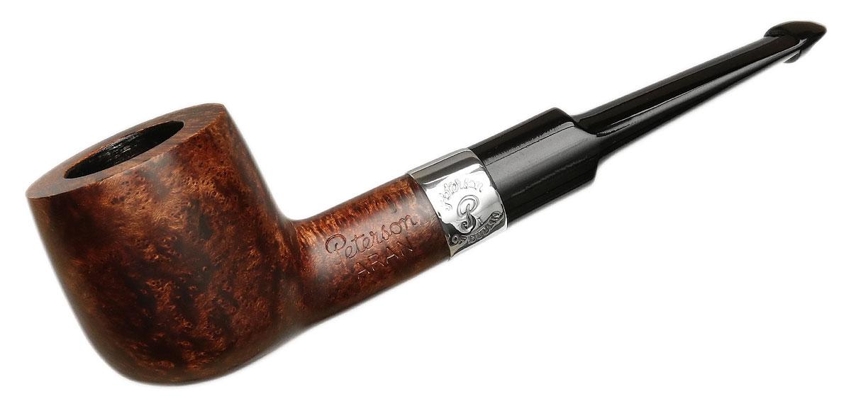 Peterson Aran Smooth Nickel Mounted (606s) P-Lip