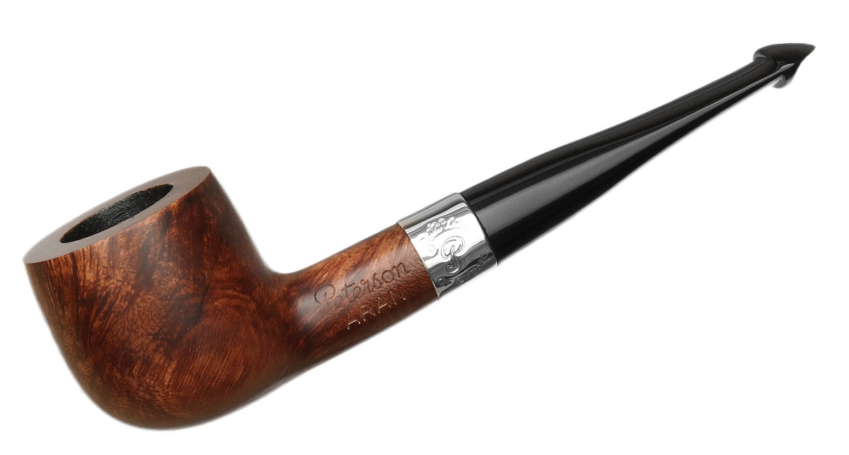 Peterson Aran Smooth Nickel Mounted (608) P-Lip
