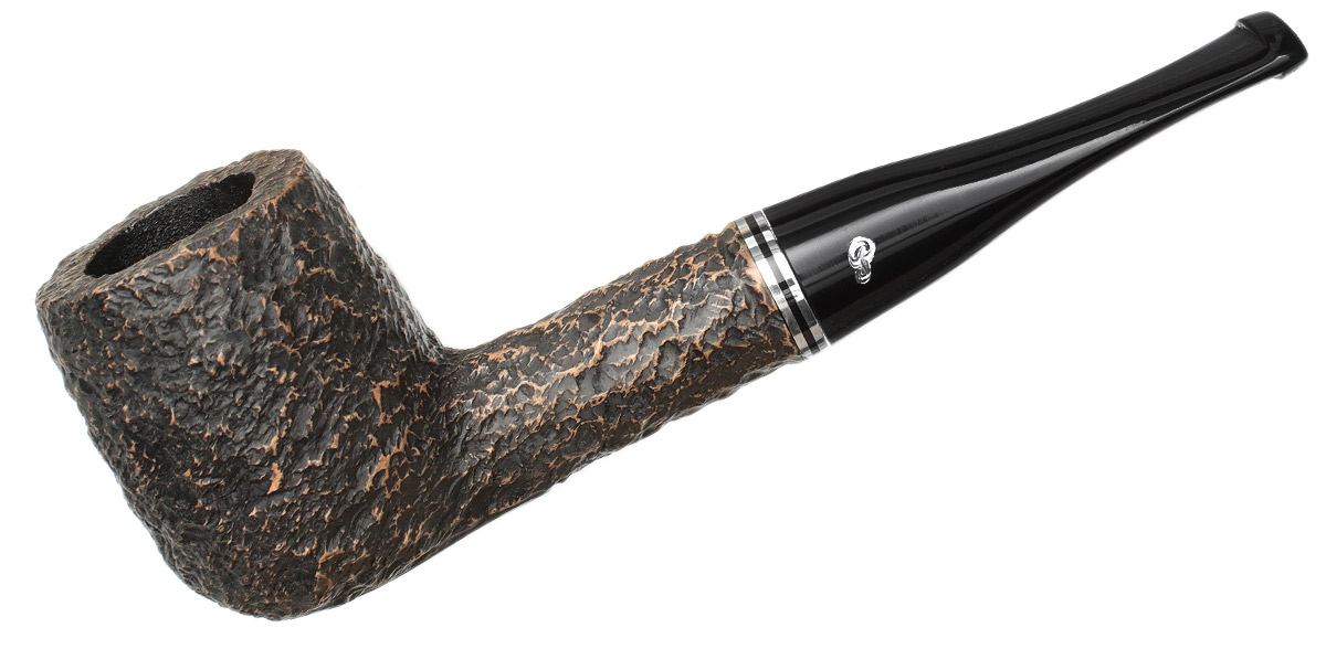 Peterson Dublin Filter Rusticated (107) Fishtail (9mm)