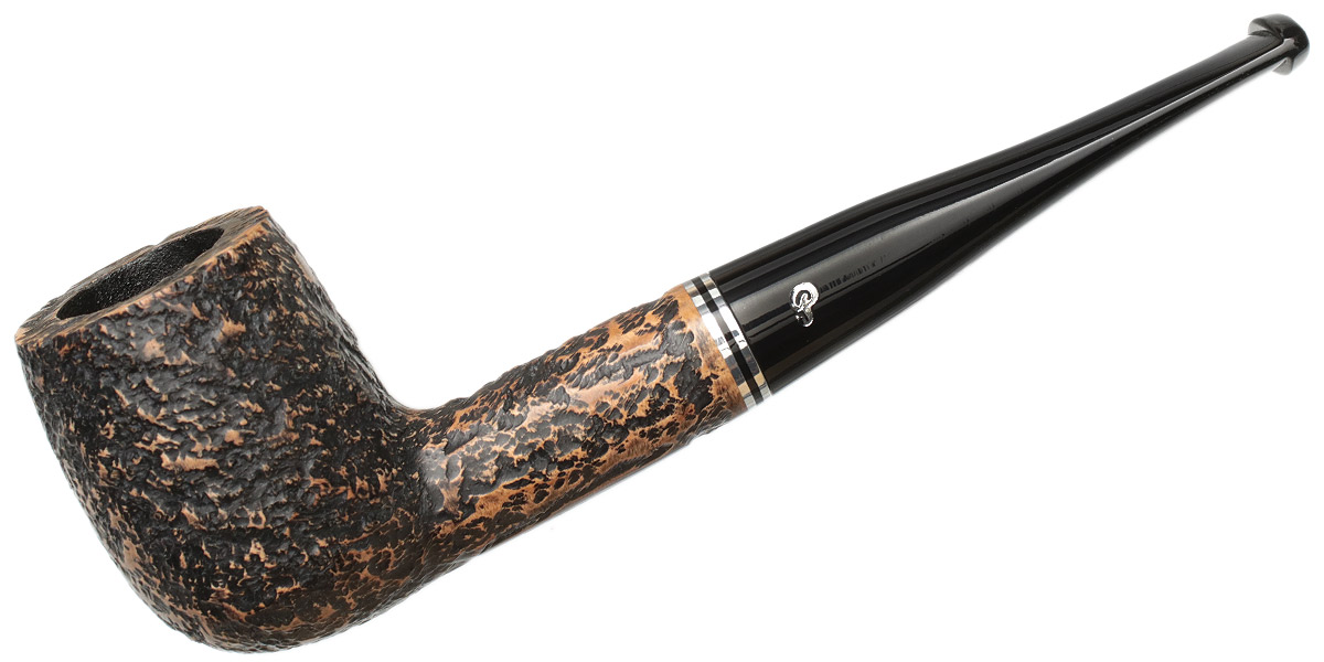 Peterson Dublin Filter Rusticated (6) Fishtail (9mm)
