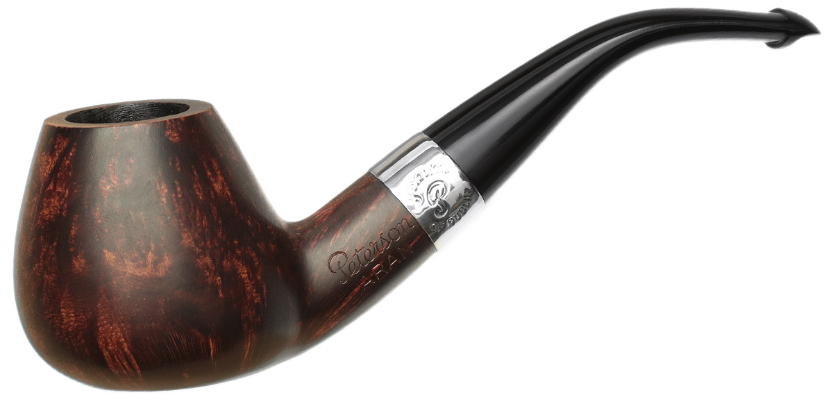 Peterson Aran Smooth Nickel Mounted (B11) P-Lip