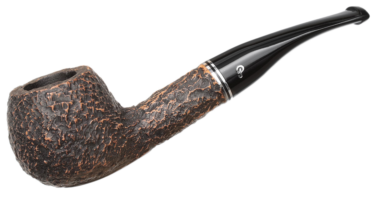 Peterson Dublin Filter Rusticated (408) Fishtail (9mm)