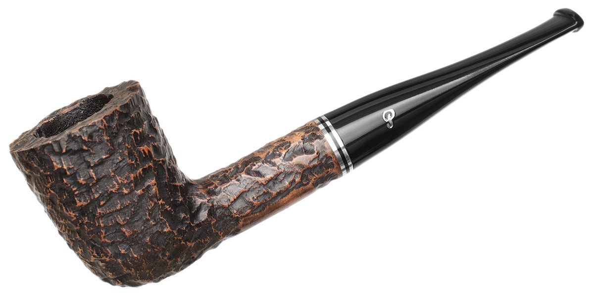 Peterson Dublin Filter Rusticated (120) Fishtail (9mm)