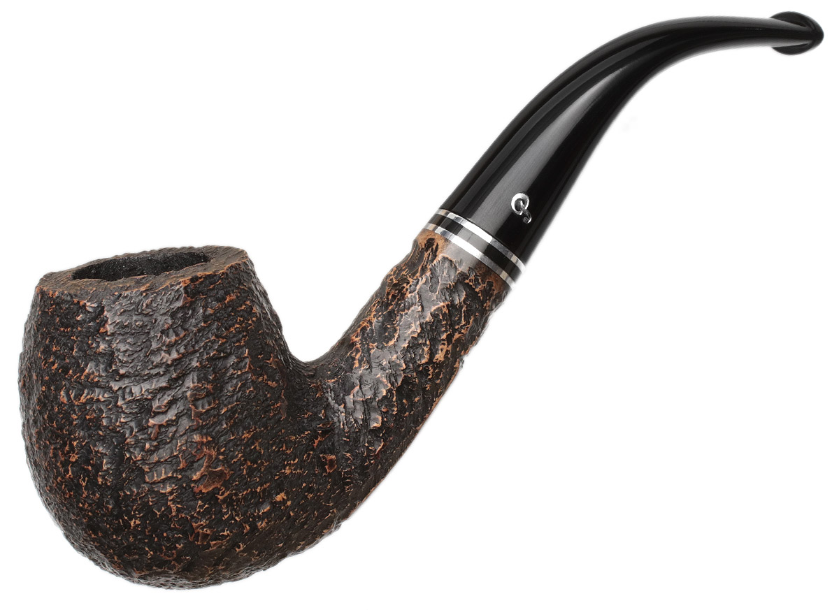 Peterson Dublin Filter Rusticated (68) Fishtail (9mm)
