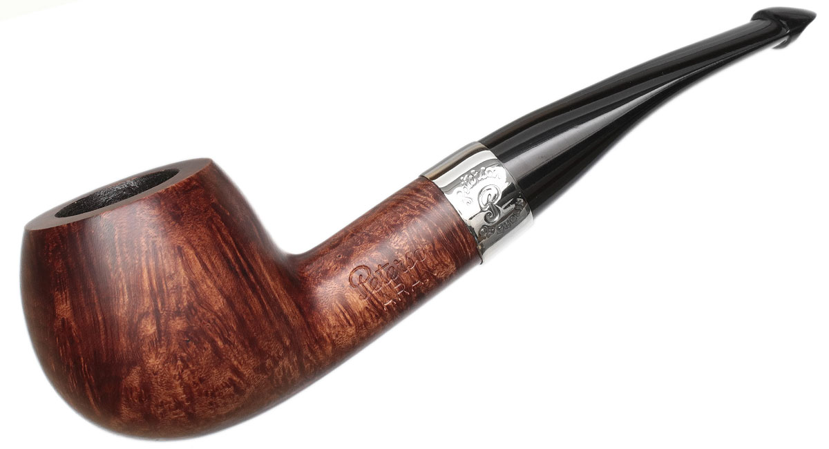 Peterson Aran Smooth Nickel Mounted (408) P-Lip