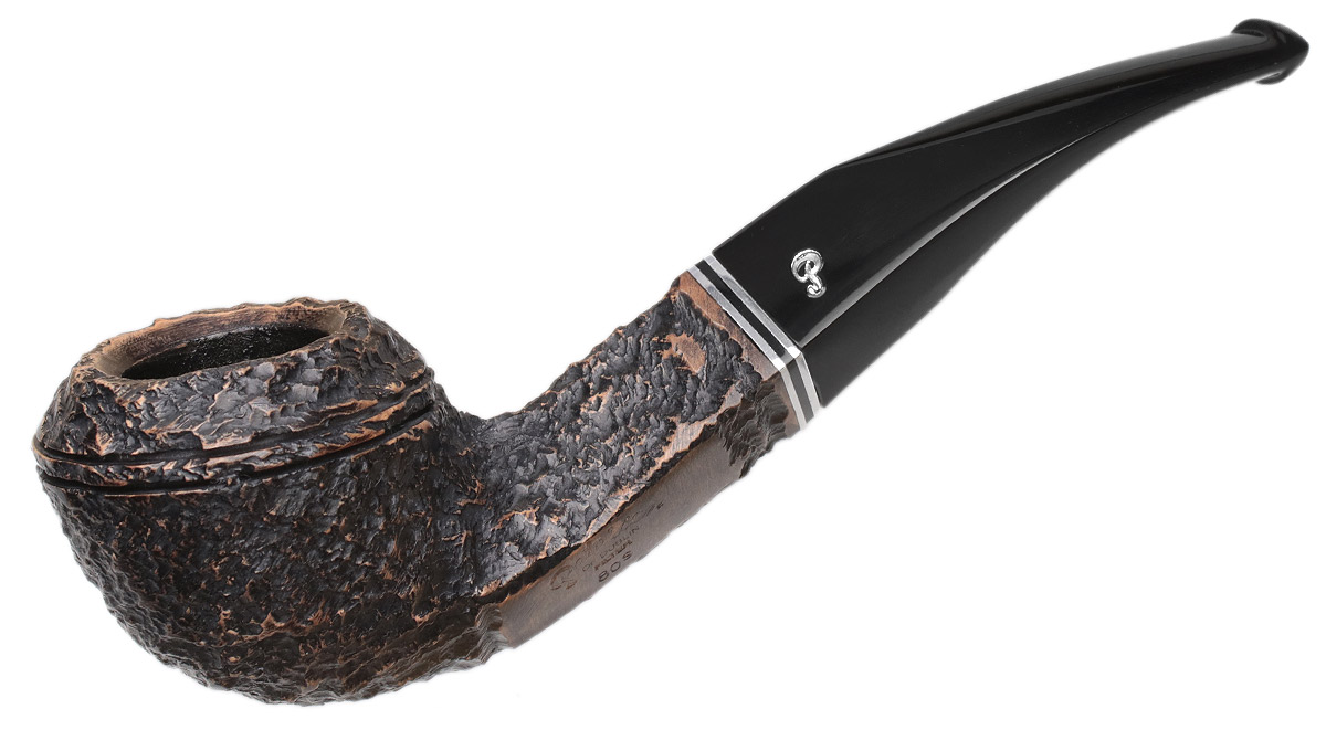 Peterson Dublin Filter Rusticated (80s) Fishtail (9mm)
