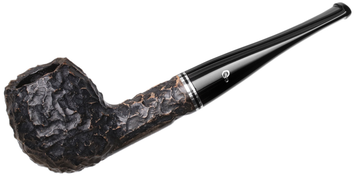 Peterson Dublin Filter Rusticated (87) Fishtail (9mm)