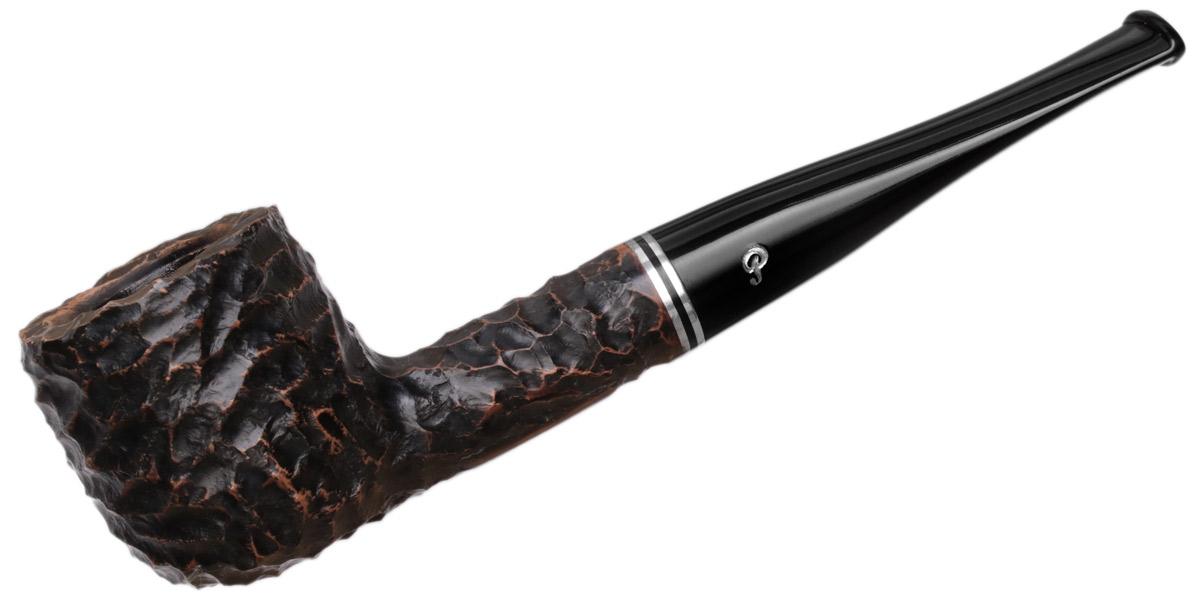 Peterson Dublin Filter Rusticated (606) Fishtail (9mm)