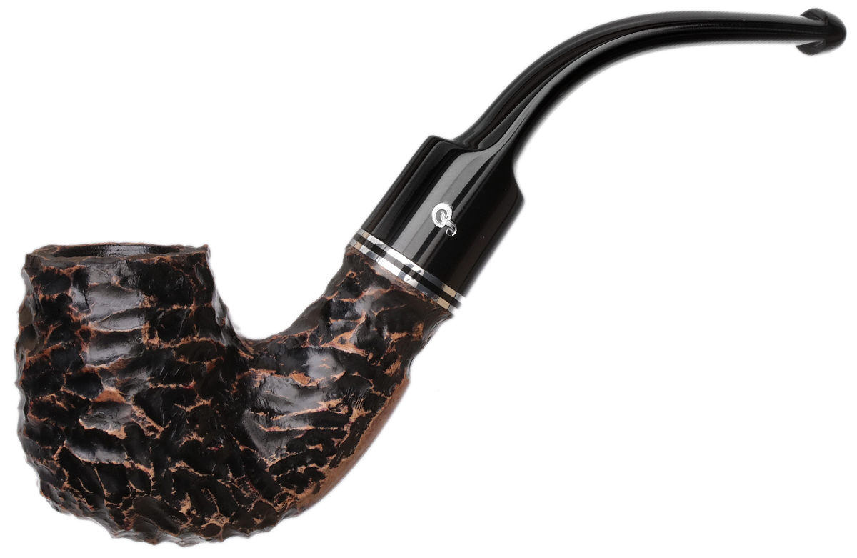 Peterson Dublin Filter Rusticated (221) Fishtail (9mm)