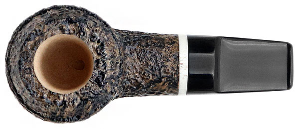 Radice Silk Cut Aero Reverse Calabash Rhodesian with Antler and Tamper
