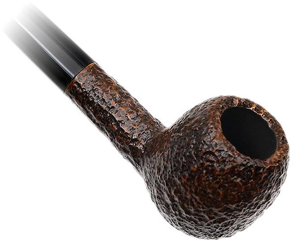 Savinelli Churchwarden Brown Rusticated (202)