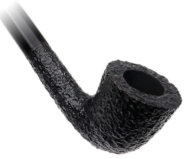 Savinelli Churchwarden Black Rusticated (921)