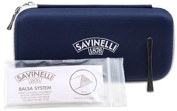 Savinelli Soccer Rusticated Black (6mm)