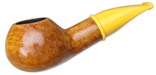 Savinelli Mini Smooth Yellow Stem (321) (6mm)