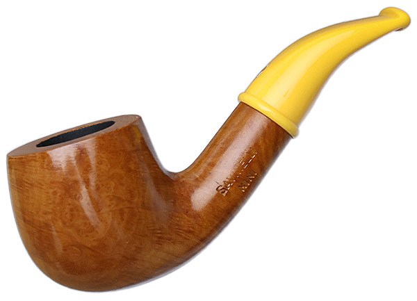Savinelli Mini Smooth Yellow Stem (601) (6mm)