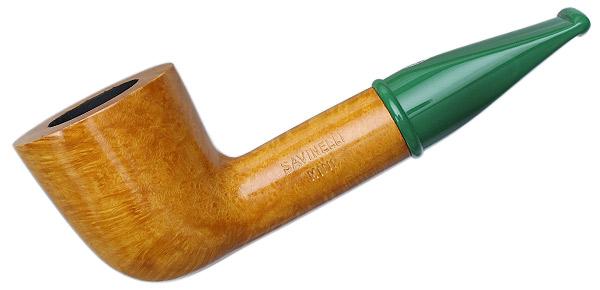 Savinelli Mini Smooth Green Stem (409) (6mm)