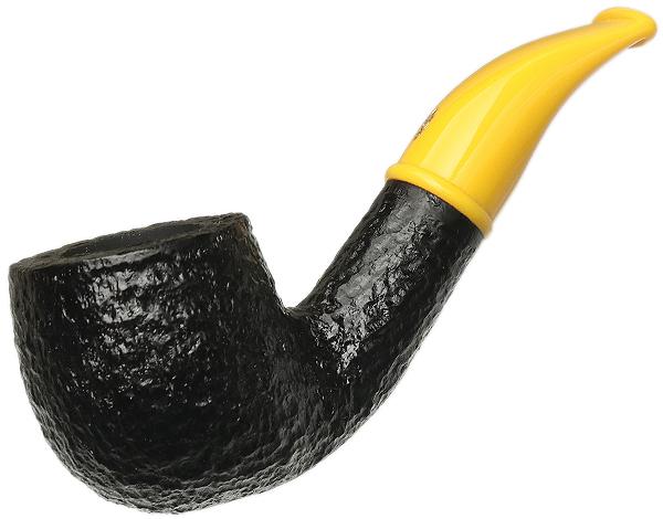 Savinelli Mini Rusticated Yellow Stem (601) (6mm)