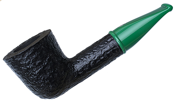 Savinelli Mini Rusticated Green Stem (409) (6mm)