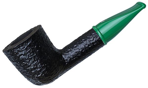 Savinelli Mini Rusticated Green Stem (409) (6mm)