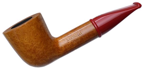 Savinelli Mini Smooth Red Stem (409) (6mm)