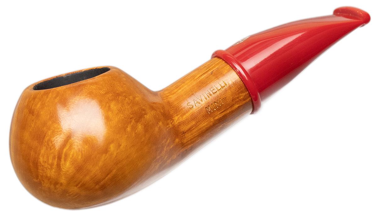 Savinelli Mini Smooth Red Stem (321) (6mm)