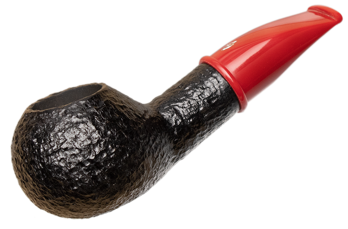 Savinelli Mini Rusticated Red Stem (321) (6mm)