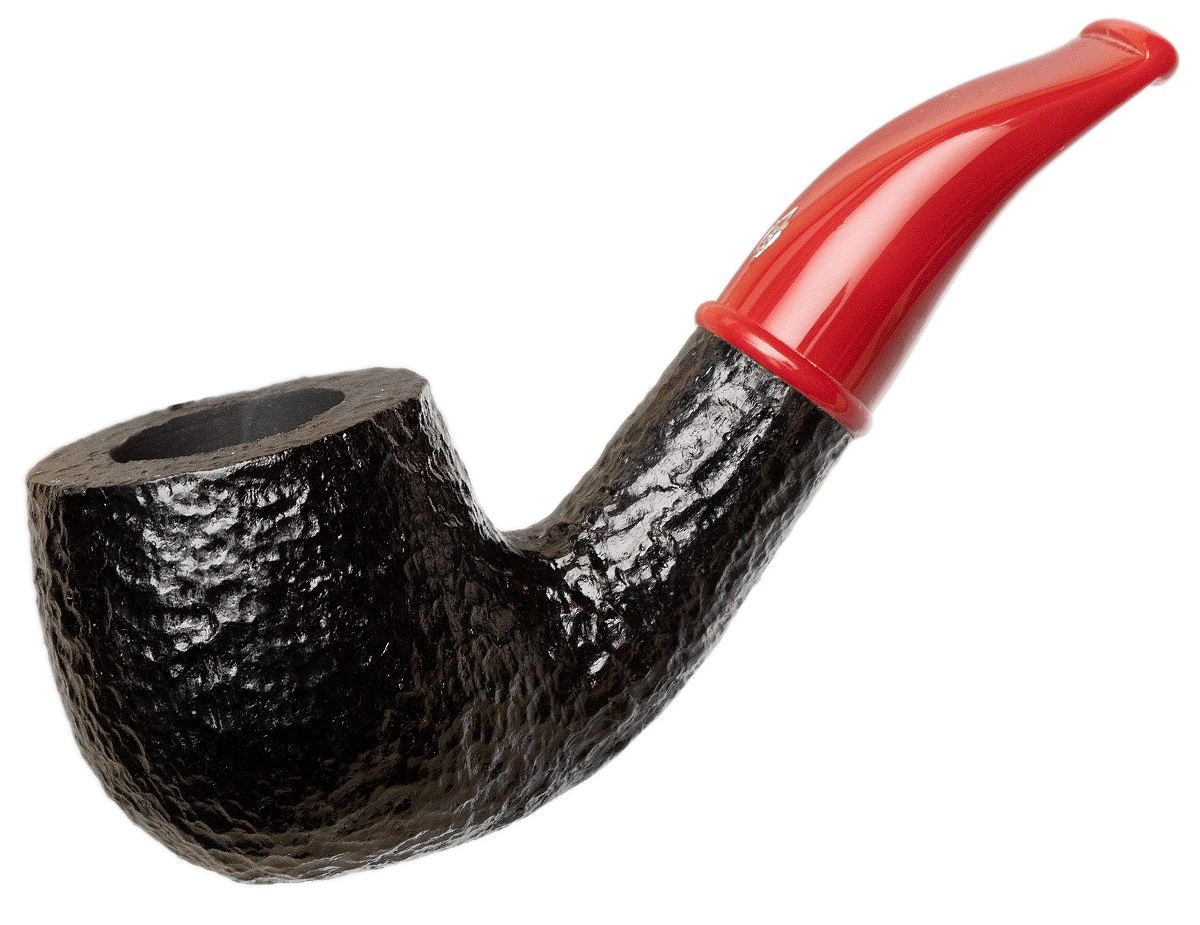 Savinelli Mini Rusticated Red Stem (601) (6mm)