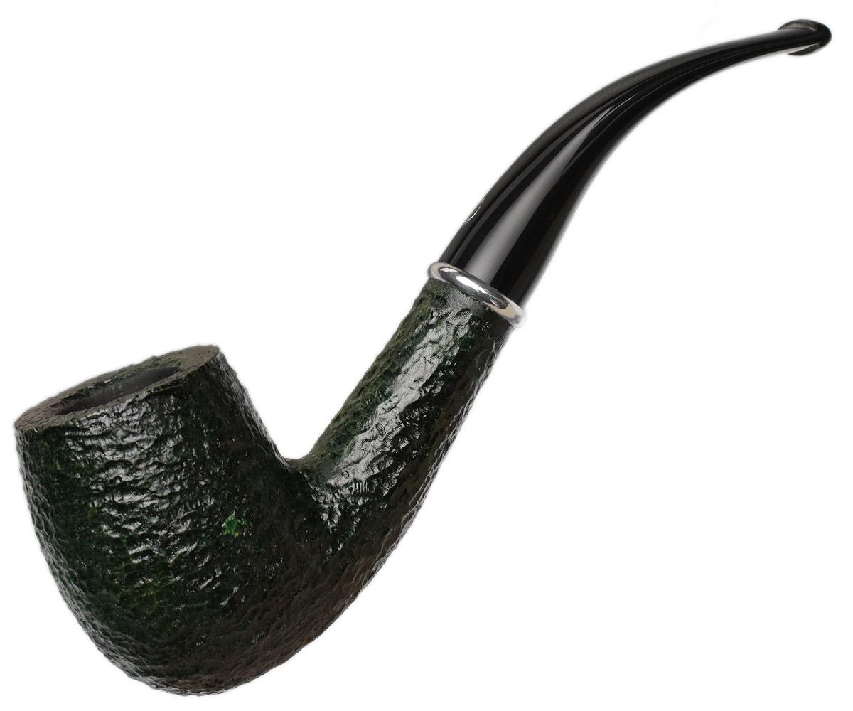 Savinelli Arcobaleno Rusticated Green (606 KS) (6mm)