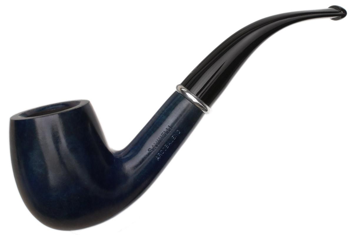 Savinelli Arcobaleno Smooth Blue (606 KS) (6mm)