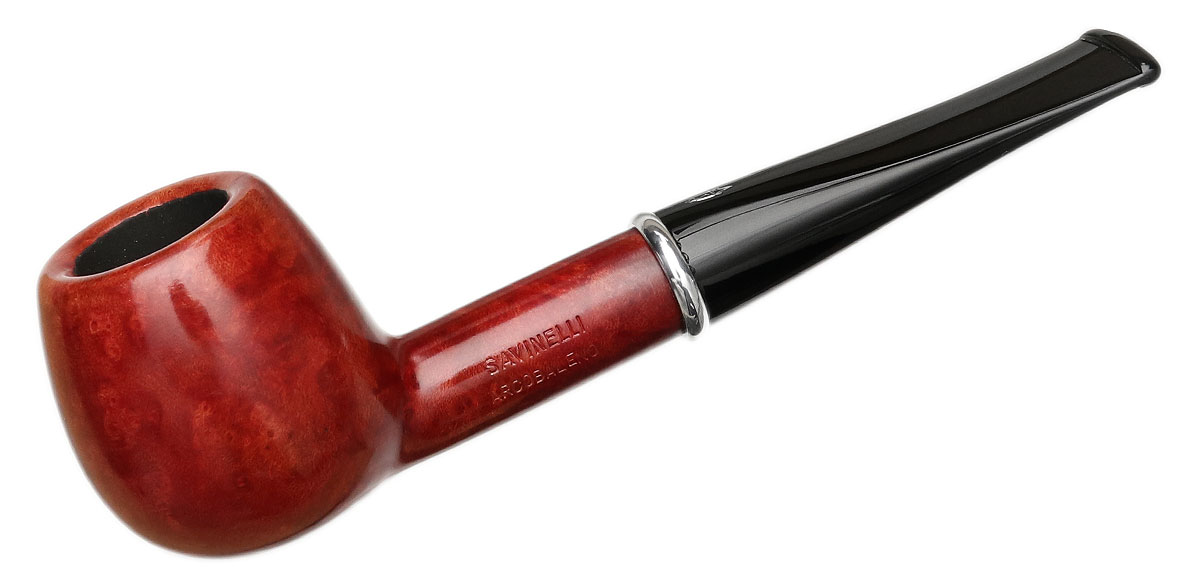 Savinelli Arcobaleno Smooth Red (207) (6mm)