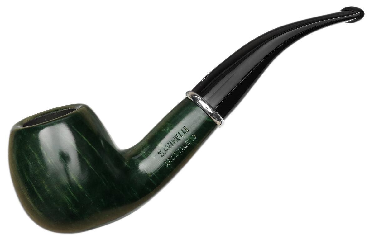 Savinelli Arcobaleno Smooth Green (626) (6mm)
