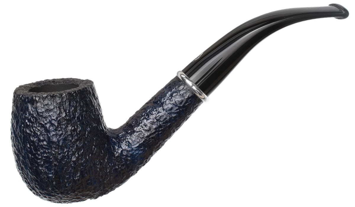 Savinelli Arcobaleno Rusticated Blue (606 KS) (6mm)