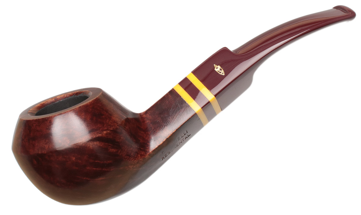 Savinelli Regimental Smooth Bordeaux (624 KS) (6mm)