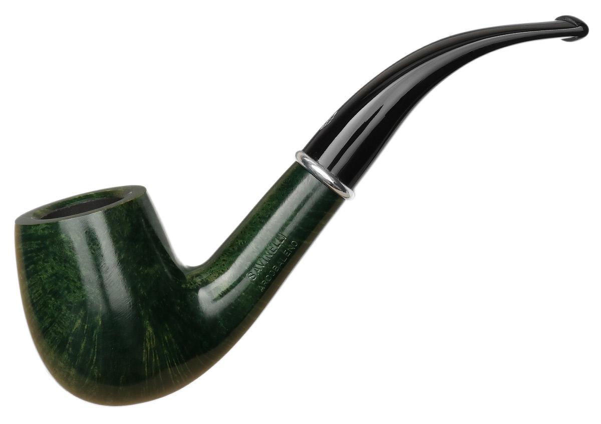 Savinelli Arcobaleno Smooth Green (606 KS) (6mm)
