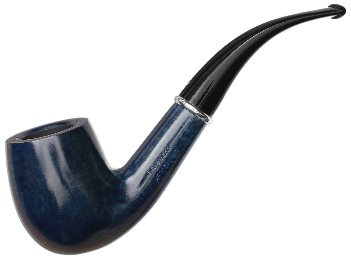 Savinelli Arcobaleno Smooth Blue (606 KS) (6mm)