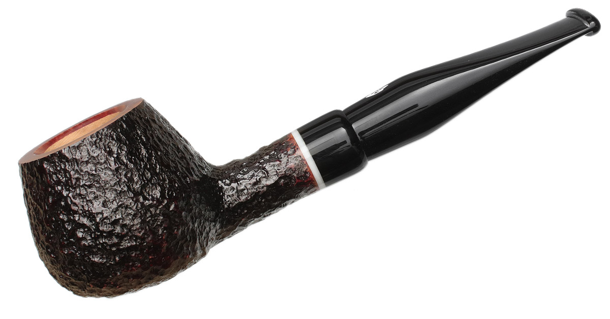 Savinelli Gaius Rusticated (345 KS) (6mm)