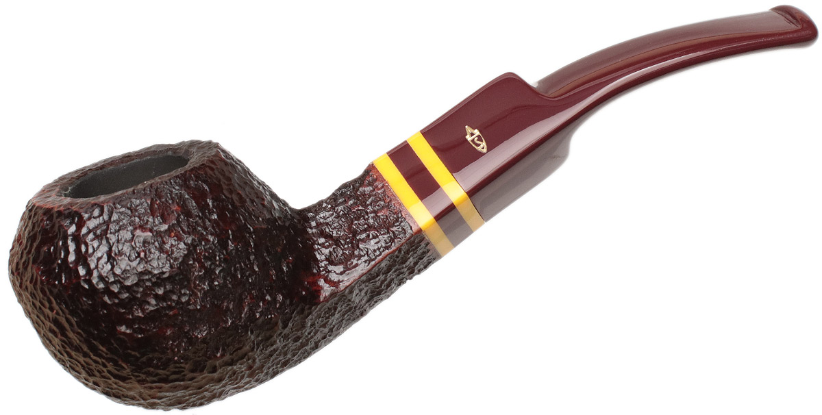 Savinelli Regimental Rusticated Brown (624 KS) (6mm)