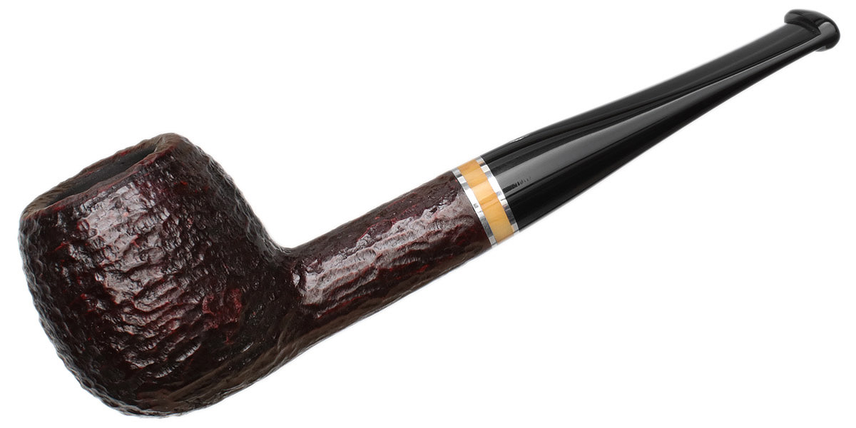 Savinelli Oscar Rusticated Brown (207) (6mm)