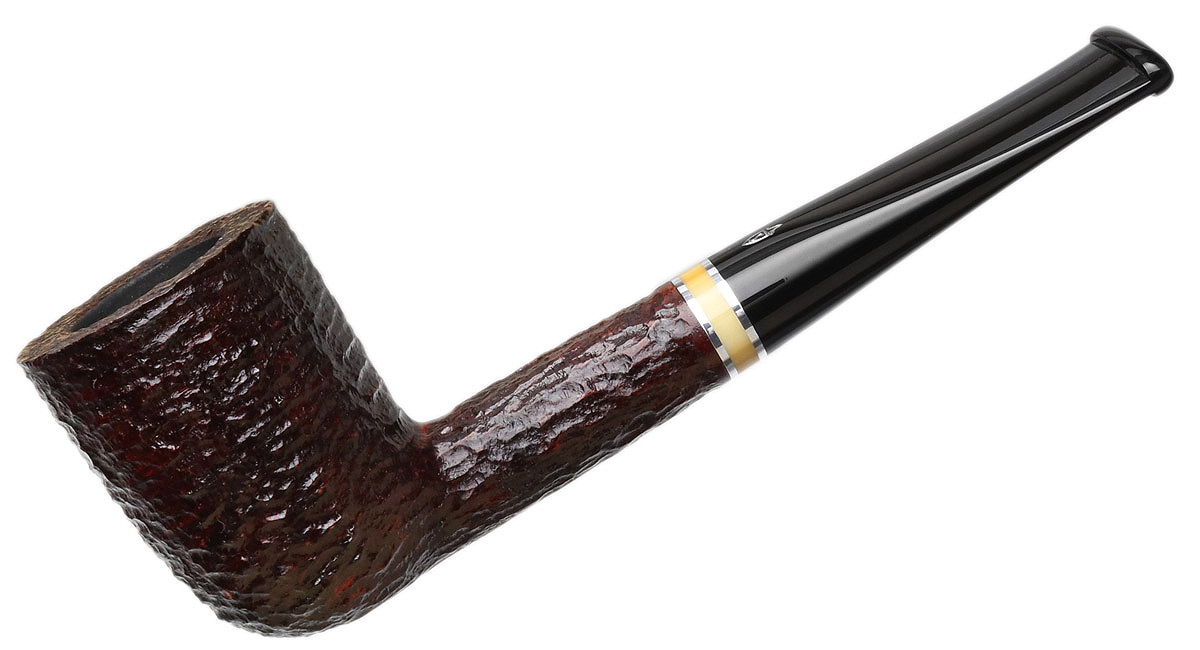 Savinelli Oscar Rusticated Brown (412 KS) (6mm)