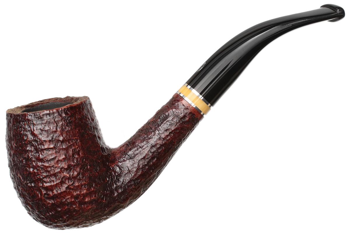 Savinelli Oscar Rusticated Brown (606 KS) (6mm)