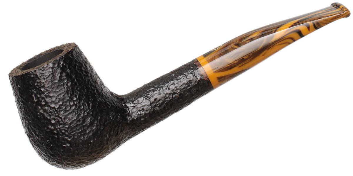 Savinelli Tigre Rusticated Black (145 KS) (6mm)
