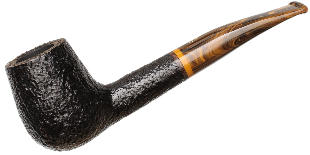 Savinelli Tigre Rusticated Black (145 KS) (6mm)