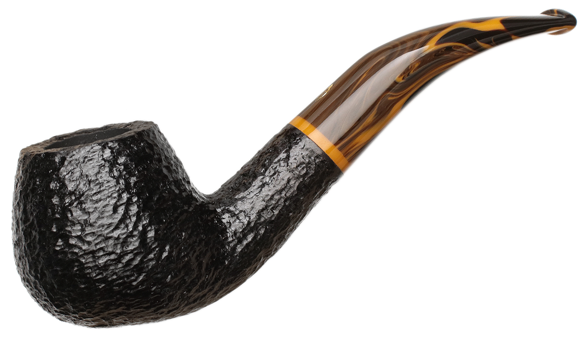Savinelli Tigre Rusticated Black (645 KS) (6mm)