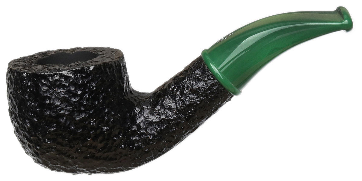 Savinelli Mini Rusticated Green Stem (601) (6mm)