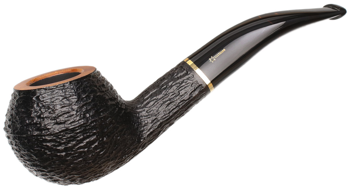 Savinelli Oscar Tiger Rusticated (673 KS) (6mm)