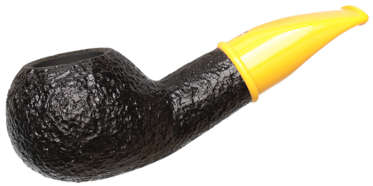 Savinelli Mini Rusticated Yellow Stem (321) (6mm)