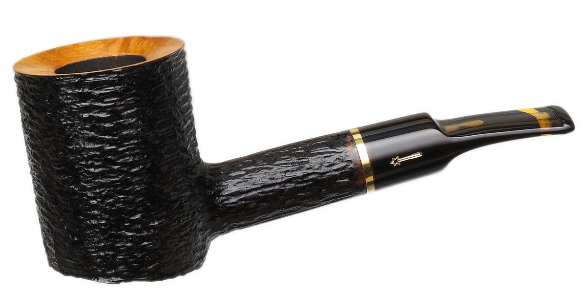 Savinelli Oscar Tiger Rusticated (311 KS) (6mm)