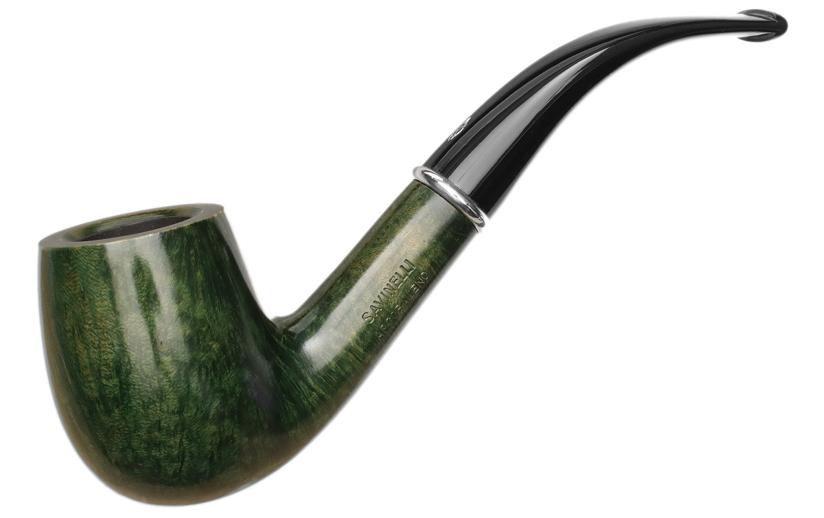 Savinelli Arcobaleno Smooth Green (606 KS) (6mm)