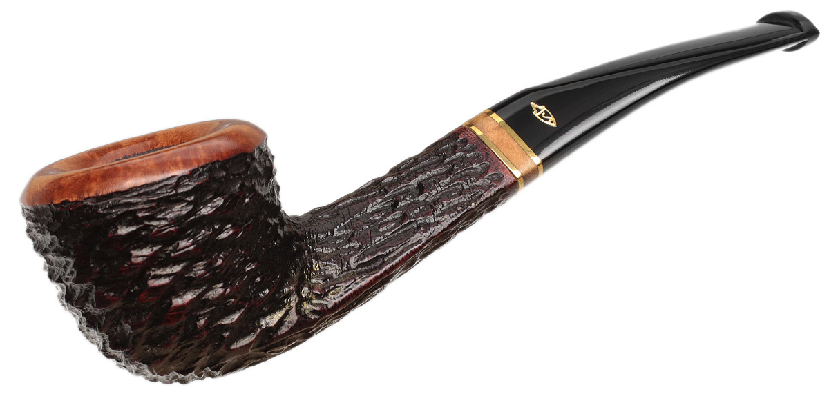 Savinelli Porto Cervo Rusticated (305) (6mm)