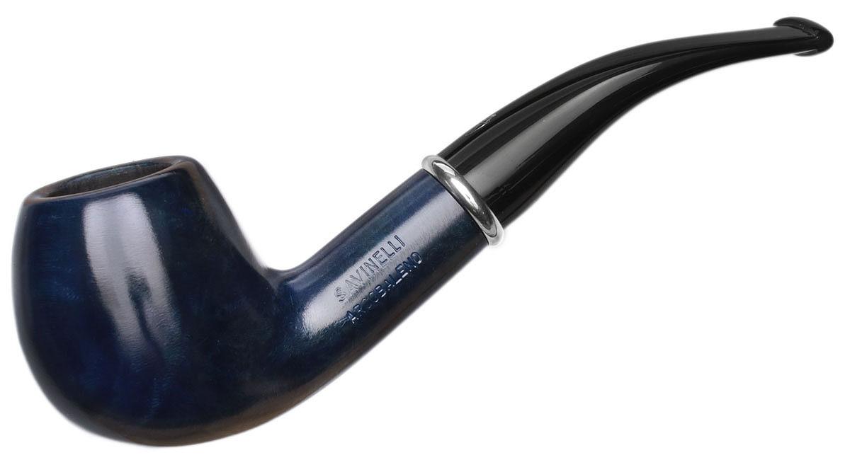 Savinelli Arcobaleno Smooth Blue (626) (6mm)